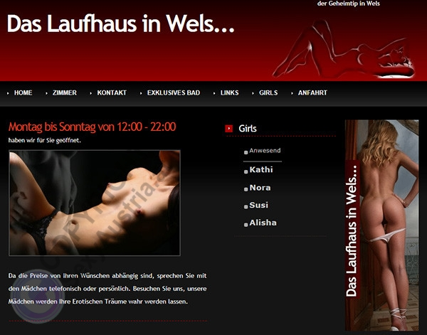 Laufhauswels Das Laufhaus in Wels